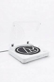 Audio Technica At Lp60 Bluetooth White Vinyl Record Player