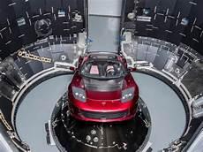 Falcon Heavy Spacex Launch Musk S Tesla Roadster Shown