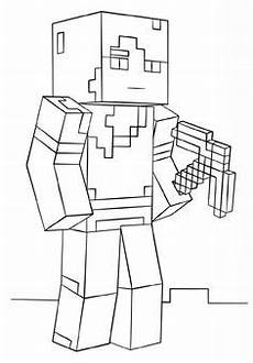 Malvorlagen Roblox Printable Roblox Minecraft Enderman Coloring Page