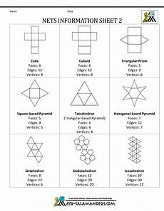 geometry nets worksheets 823 3d geometric shapes geometric shapes and templates on