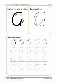 australian handwriting practice worksheets victorian modern cursive vic wa nt leostarkids