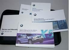 car repair manuals download 2001 bmw x5 navigation system 2001 bmw x5 owners manual set 01 4 4 v8 3 0 v6 awd w case navigation guide ebay