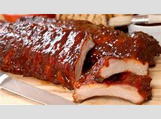 cranberry barbecued ribs_image