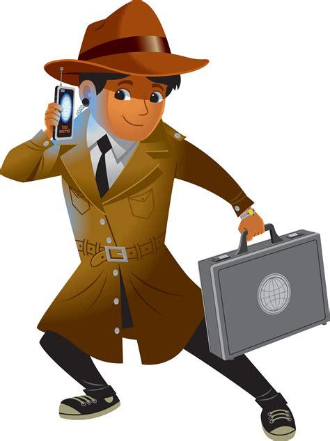 Cartoon Spy Boy