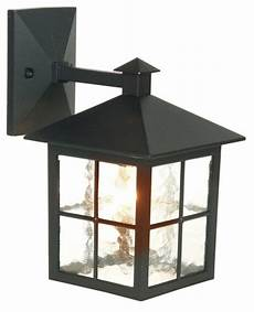 lights by b q maine outdoor wall light in black wall light review compare prices buy online