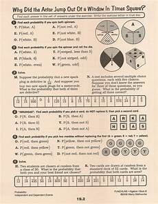 compound probability worksheets 8th grade 6002 assignments 8th grade honors third quarter whmsmath