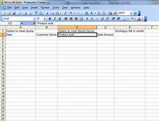 advanced tinkerings in excel how to build a sales tracker