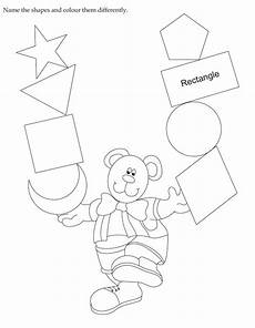 color by number shapes worksheets 16248 activity worksheet name the shapes and colour