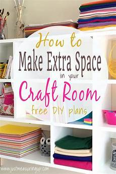 how to make extra space in your craft room diy craft