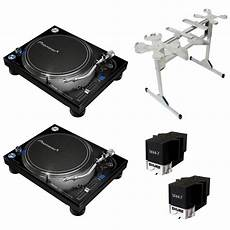 Pioneer Plx1000 Turntable Package W Sefour Stand Planet Dj