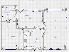 refaire l électricité d un appartement plan electrique de maison