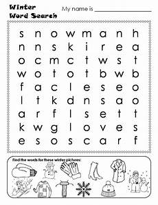 winter crossword worksheets 19981 winter word search answers print worksheets winter words winter word search