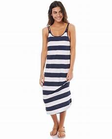 supreme clothing womens womens silver supreme striped midi tank dress dress