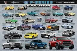 Ford F Series 150 Pickup Trucks EVOLUTION History Of
