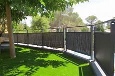 garde corps pvc pour terrasse clot 251 re et garde corps jardin et terrasse pvc alu inox
