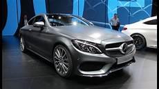 2017 Mercedes C Class Coupe 2015 Frankfurt Motor