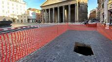 rome sinkhole opens up in front of pantheon wanted in rome