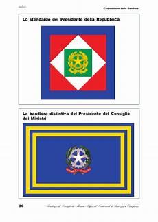 decreto presidente consiglio dei ministri la bandiera cenni storici e norme per l esposizione