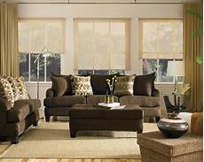 living room ideas brown sofa curtains home decoration