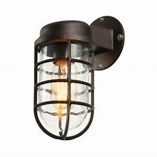 industrial outdoor wall light fixture sconce rustic metal cage porch wall l 793066397206 ebay