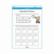 fractions year 2 worksheets number maths melloo