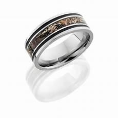 lashbrook 8f1321a duckblind polish titanium wedding ring