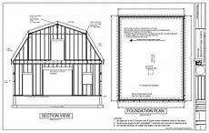 gambrel barn house plans gambrel barn workshop plans blueprint house plans 155072
