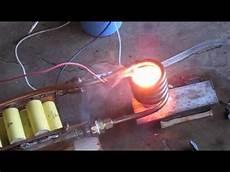 3 Kilowatt Induction Heater Melting Zinc Aluminum Metal