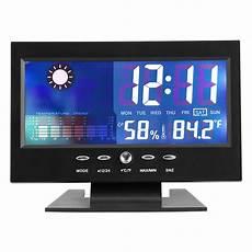 Digital Alarm Clock Temperature Humidity Weather by Precise Temperature Humidity Clock Digital Temperature