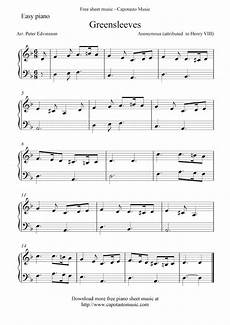 free sheet music scores free piano sheet music notes greensleeves piano music lessons