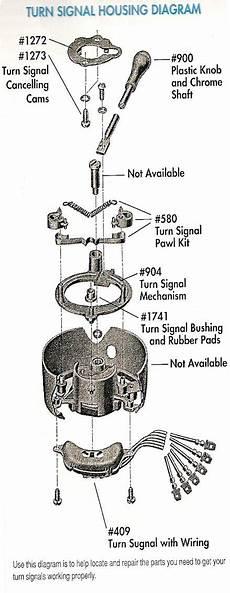 1959 Bel Air Wiring Diagram by Turn Signal Housing Diagram Trifive 1955 Chevy 1956