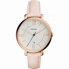 pink leather es3988 fossil watches2u