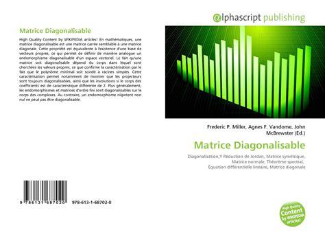 Matrice Diagonalisable