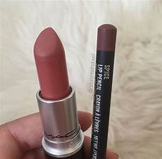 mac velvet teddy spice lip pencil lipstick mac makeup