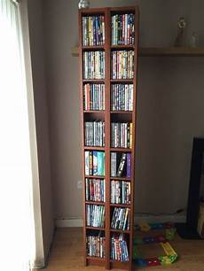 ikea gnedby billy cd dvd unit x2 in wellingborough