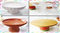 diy cake cupcake stand how to make cake stands 3 youtube
