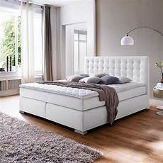 Schlafzimmer Bett 200x200 by Amerikanisches Bett Rocono In Wei 223 Kunstleder Meine
