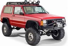 jeep xj bushwacker 10922 07 flat style flares for 84 01 jeep