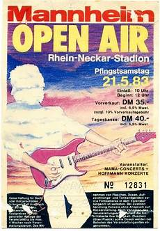 Mannheim Open Air The Rock N Roll Years