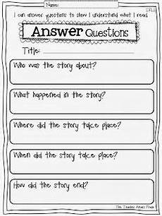 new 910 first grade reading response worksheets