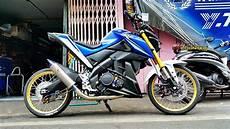 Mt 15 Modif by Modifikasi Yamaha Xabre 150 Pasang Ban Cacing Ala Para