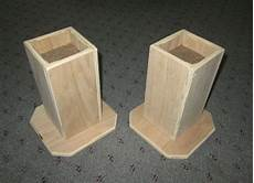 furniture risers 6 inch all wood construction unfinished square design raise furniture