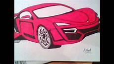 voiture en dessin dessin voiture de sport
