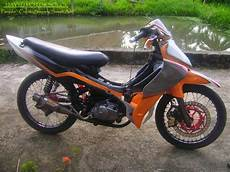 Jupiter Z Modif Trail by Jupiter Z Modifikasi Trail Thecitycyclist