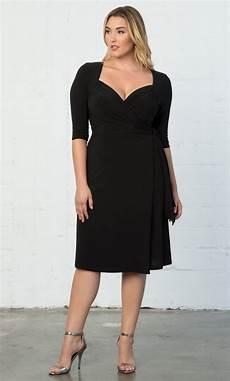 plus size kleider plus size knit wrap dress sweetheart neckline cocktail dress