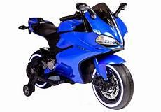 Motorrad Für Kinder - motorrad sx1628 blau ledersitz usb eingang sd motorrad f 252 r