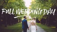 wedding full wedding behind the