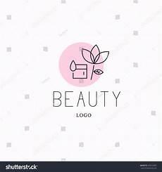cosmetic logo design template brand stock illustration 443513002