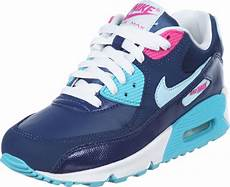 nike air max 90 youth gs shoes blue turquoise pink