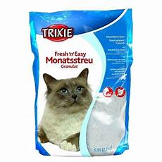trixie fresh n easy granules 5 l pour chat animalerie